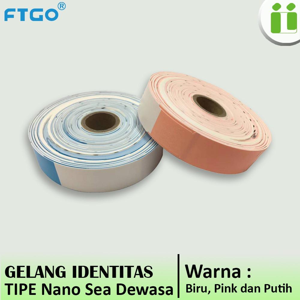 gelang pasien barcode ftgo nanosea