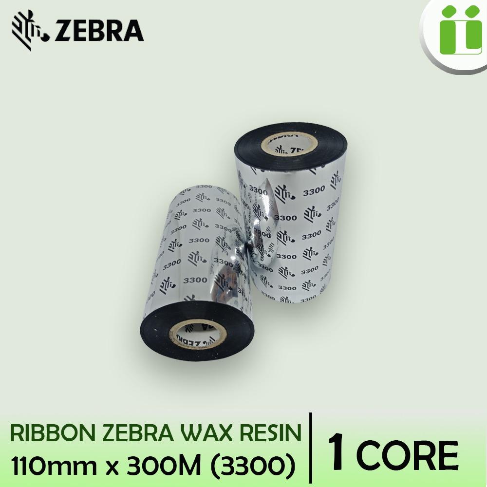ribbon zebra wax resin 300